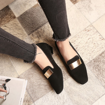 LOVEXSS Genuine Leather Casual Flats 2017 Spring Autumn Casual Sheepskin Loafers Plus Size 34 - 42 Apricot Black Red Woman Flats