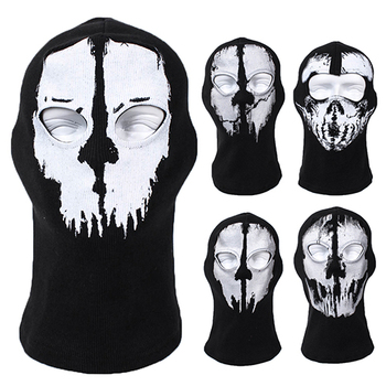 New Balaclava Ghost Skull Bike Cycle Motorcycle Helmet Hood Neck Face Mask
