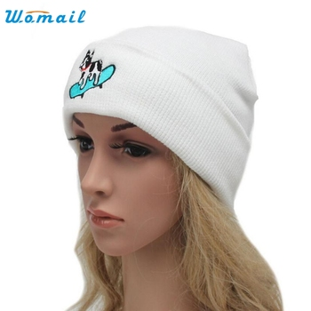 Winter Warm Beanie hats for Women Lady Knitted Snow CapHat gorro Amazing Aug 15