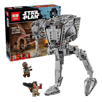 Factory sales Lepin 05066 Star War Series The Rogue One Imperial AT-ST Walker Set Building Blocks Bricks Educational Toys 75153
