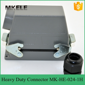 MK-HE-024-1H high protection grade heavy duty connector receptacle,heavy-duty connector socket terminals to measure high cover