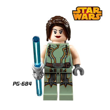 Building Blocks Star Wars LEIA Grand Moff Tarkin Wilhuff Superhero Deadpool Jedi Knight diy figures Bricks Kids DIY Toys Hobbies