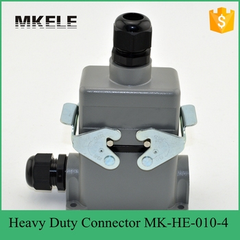 MK-HE-010-4 widely used multi pin heavy duty headlight connector for car system ,heavy duty connector cover
