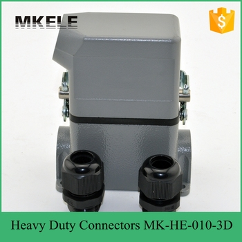 MK-HE-010-3D heavy duty industrial lightning connectors from heavy duty connector manufacturer for wind power generation
