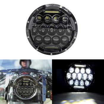 7 Inch 75W Daymaker Projector LED Headlight Assembly for Harley-Davidson Motorcycle