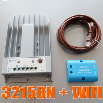 Tracer 3215BN + WIFI BOX Mobile Phone APP EPsloar 30A MPPT Solar Charge Controller communication