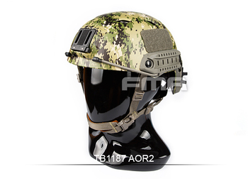FMA Tactical Fast BJ Base Jump Type Adjustable Helmet Side Rail For Airsoft Paintball