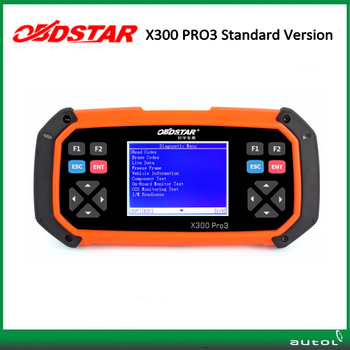 Original OBDSTAR X300 PRO3 Key Master OBDII X300 Key Programmer Odometer Correction Tool with EEPROM/PIC Update Online free DHL