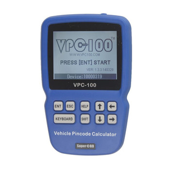 VPC-100 Hand-Held Vehicle IMMO Key Pin Code Calculator VPC100 With 500 Tokens Update Online