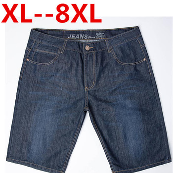 PLUS SIZE BIG 10XL 9XL 8XL 7XL 6XL 5XL 4XL 2016 summer new style men's short jeans pants casual trousers cotton pants