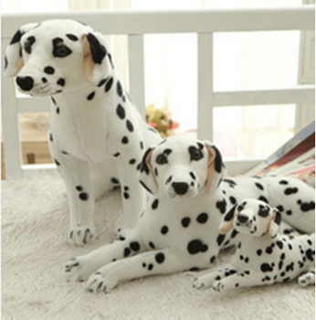Simulation dalmatians high-grade household decoration simulation toy dog home decoration plush toys