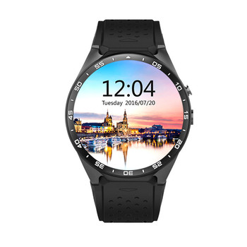 KW88 MTK6580 Android 5.1 OS GPS Smart Watch 1.39