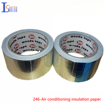 Air conditioning and refrigerator insulation paper aluminum foil heater exhaust pipe exhaust pipe of aluminum foil tape, aluminu