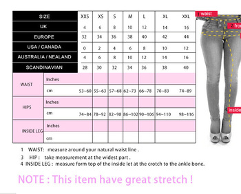 New sexy skinny high waisted sky blue jeans women casual pencil pants trousers full length plus size for womans feminina