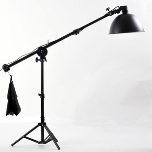 2m light stand Head Holder Bracket with continuous light for photo studio light for Photo Studio Reflector Arm Support Kit CD50