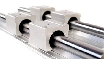 2pcs 25mm SBR25-1000mm Linear Bearing Rails + 4pcs SBR25UU Linear Motion Bearing Blocks kit