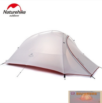 NH ultra light single person rainproof outdoor climbing camping tent double layer storm four seasons