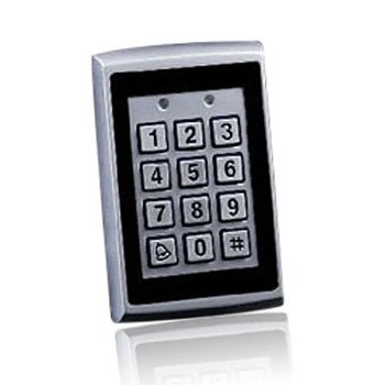 Standalone access controller keypad WG input for readers