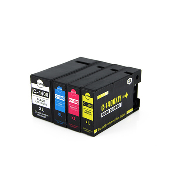 One Set Compatible PGI-1400BK C M Y PGI1400 ink Cartridge For Canon MAXIFY MB2040 MAXIFY MB2340 inkjet printer