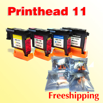 4x printhead for hp11 C4810A C4811A C4812A C4813A compatible for HP 11 HP500 HP800 HP510,1000,1100, 100/110/70 printer