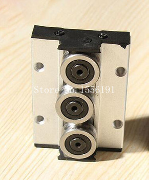 SGR20N-3 Three roller skating block, SGR20N Linear slide block bearings,CNC parts ,Without linear roller guide