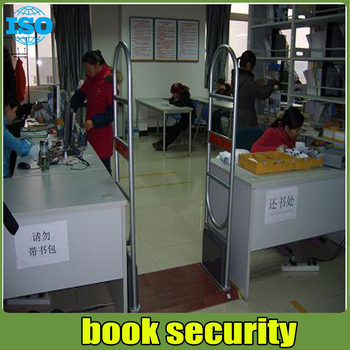 EM technology sound and light alarm eas system ,library anti theft system 2 door and 1 machine free install system