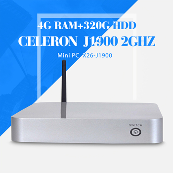 Celeron J1900 4g ram+320g hdd+wifi computer networking thin client computer support touch screen desktop computer thin client