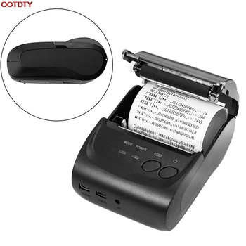 58mm Mini Portable Wireless Bluetooth Thermal Printer Receipt For Android for Mobile
