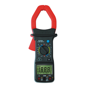 MS2000G Digital Clamp Meter Current AC DC Voltage Resistance Temperature Tester