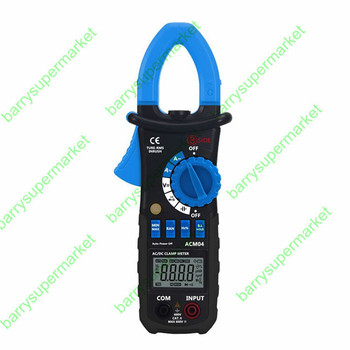 New ACM04 True RMS Digital AC DC Current Voltage Clamp Meter Multimeter Capacitance Frequency Inrush Current Test vs MS2108