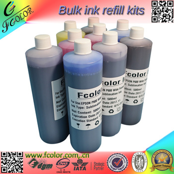 Bulk T7601-9 Refill P600 Pigment ink for SureColor P600 P607 P608 Printer Photo Printing Ink