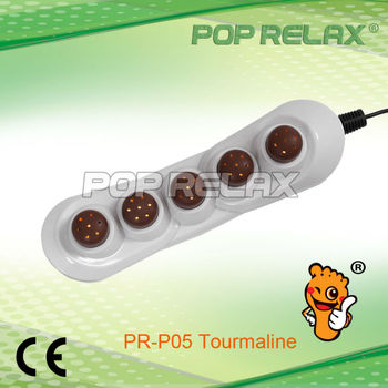 POP RELAX 5 balls jade tourmaline handheld therapy body heater projector PR-P05