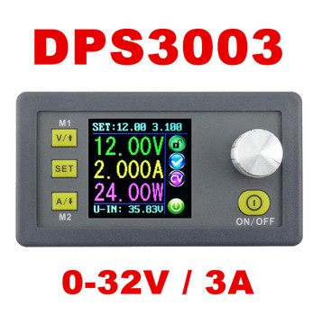 5pcs DPS3003 Constant Voltage current Step-down Programmable Power Supply module buck Voltage converter LCD display voltmeter