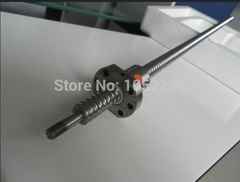 1pcs ball screw RM1610 L500mm with 1pcs SFU1610 single ball nut for cnc router shaft guide