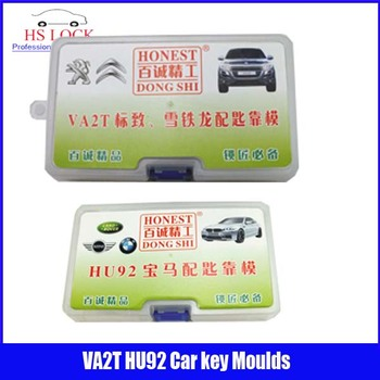 HU92 & VA2T car key moulds for key moulding Car Key Profile Modeling locksmith tools