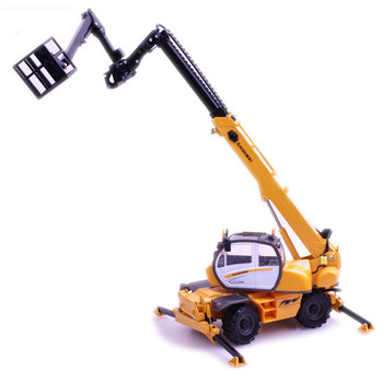 KAIDIWEI 1:50 16cm Diecast + ABS Metal Trucks Model, Multifunctional Crane Truck Toys For Children, Christmas Gifts Brinquedos