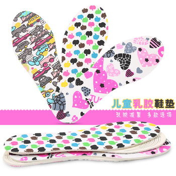 Breathable Insoles for Kids Cartoon Cute Shocked Sports Insoles for Shoes