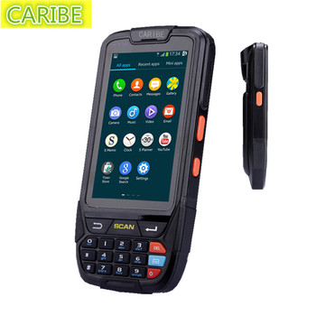 Android pda WiFi 4000 Mah GPS/4G 2GB+16GB outdoor industry rugged 2d barcode reader