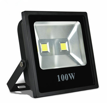 Wholesale 100W 150W 200W 250W LED Flood Light 85V-265V floodlight Outdoor lamp flood lighting Free FedEx/DHL