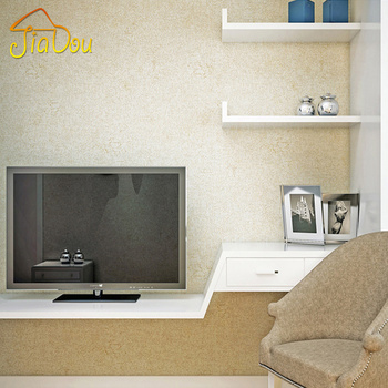 Modern Plain Solid Color Non-woven Wallpaper Bedroom Living Room Sofa Study TV Background Wall Decor Wall Paper Wall Covering