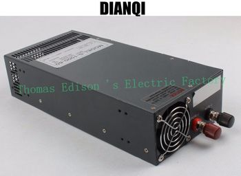 Switching power supply 1000W 60V 16a AC to DC input 110v or 220v select by switch 1000w ac to dc power supply