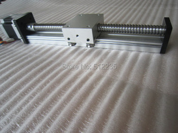 High Precision SGK Ballscrew 1204 Travel 400mm Linear Guide+ Nema 23 Stepper Motor CNC Stage Linear Motion Moulde Linear