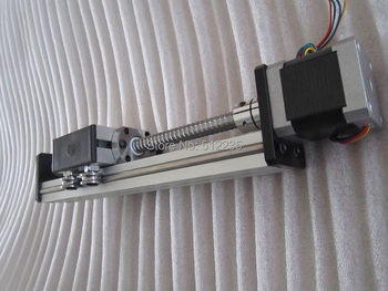 High Precision SG Ballscrew 1610 300mm Travel Linear Guide + 57 Nema 23 Stepper Motor CNC Stage Linear Motion Moulde Linear