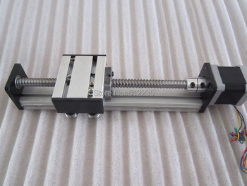 High Precision SG Ballscrew 1610 800mm Travel Linear Guide + 57 Nema 23 Stepper Motor CNC Stage Linear Motion Moulde Linear