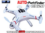 CX20 Auto-Pathfinder 2.4Ghz 4ch RTF brushless rc quadcopter drone with GPS