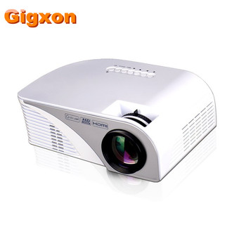 Gigxon - G8005B 2016 projector led mini pocket projector for iphone 6 led projector