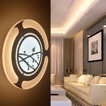2016 new led wall lamp bedside light modern home lighting aisle lamp Porch lamps acrylic lamps miroir mural applique murale
