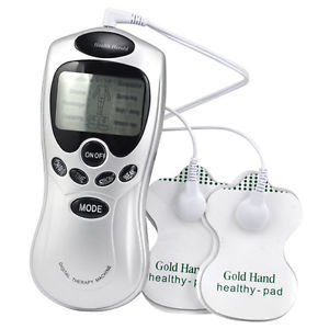 Tens Digital Therapy Machine Slimming Pulse Muscle Relax Massage Electric Slim 4 Pads Pain Relief Fitness
