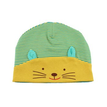 Baby Girl Boy Beanie Hats Toddler Infant Cute Cat Casual Knit Cotton Print Caps Apparel Accessories