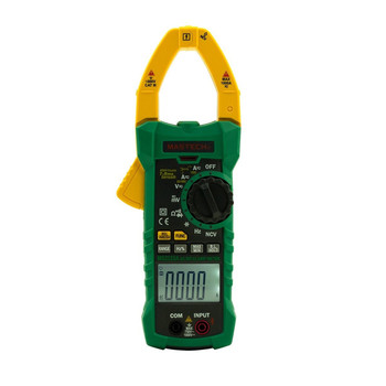 1pcs Mastech MS2115A 6000 Counts True RMS Digital Clamp Meter AC/DC Voltage Current Tester with INRUSH and NCV Measurement